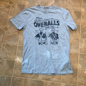 Silver jeans t shirt